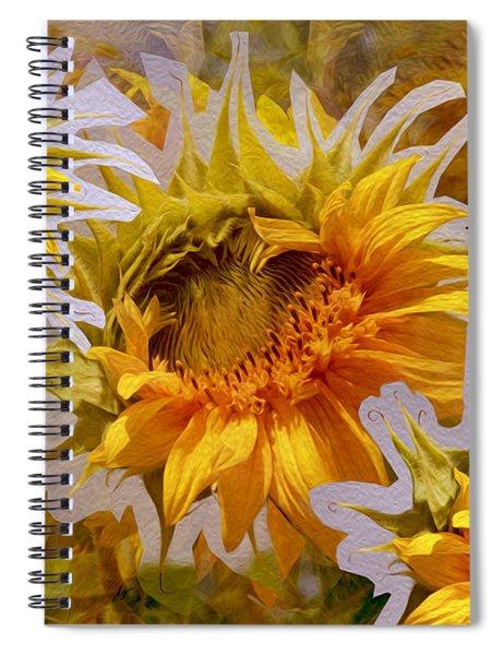 Sunflower Delight Spiral Notebook