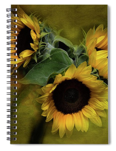 Sunflower Family Spiral Notebook