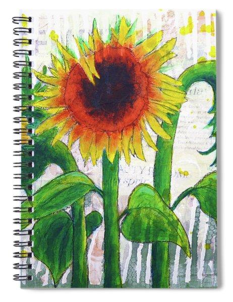 Sunflower Sonata Spiral Notebook