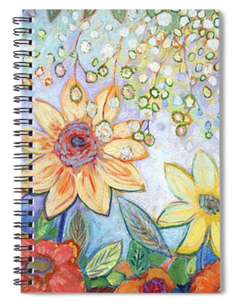 Sunflower Tropics Spiral Notebook
