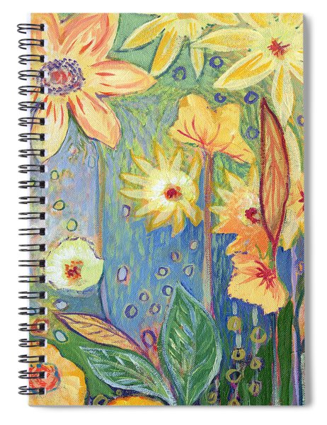 Sunflower Tropics Part 3 Spiral Notebook