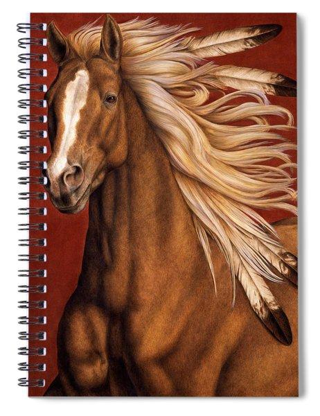 Sunhorse Spiral Notebook by Pat Erickson
