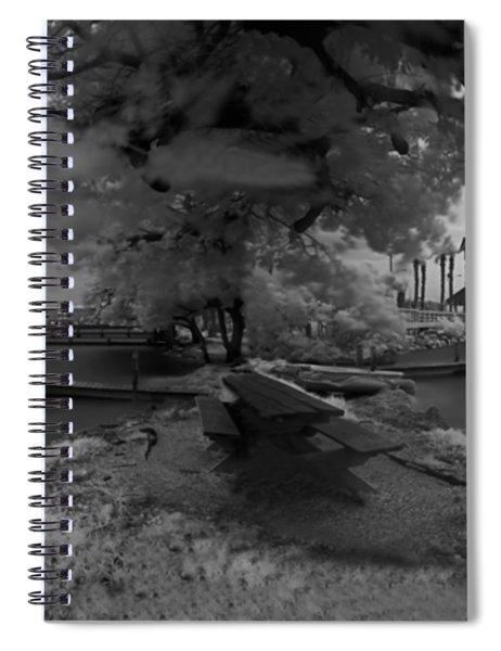 Sunken Boats Spiral Notebook