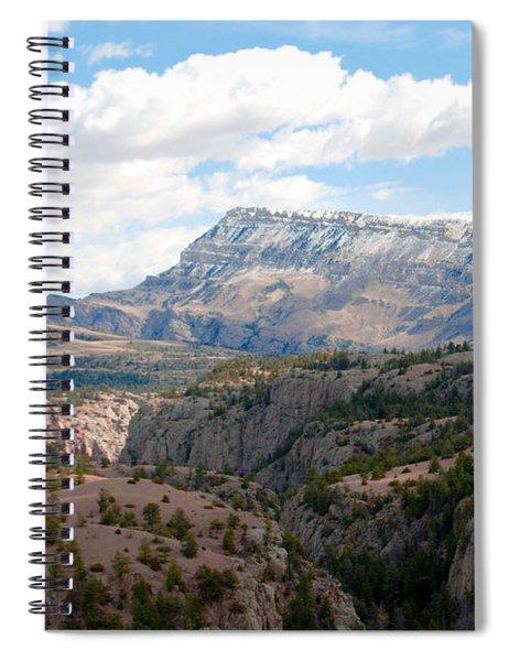 Sunlight Creek Of Wy Spiral Notebook