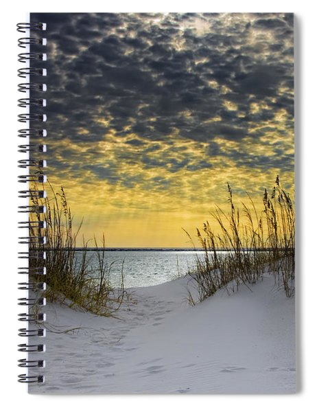 Sunlit Passage Spiral Notebook
