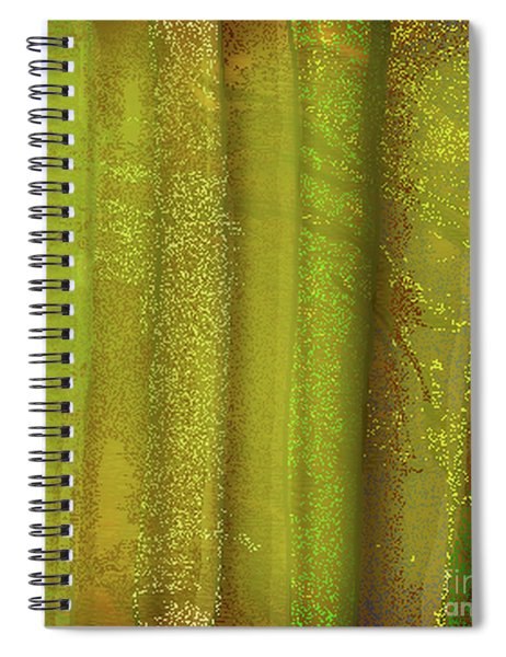 Sunlit Fall Forest Spiral Notebook