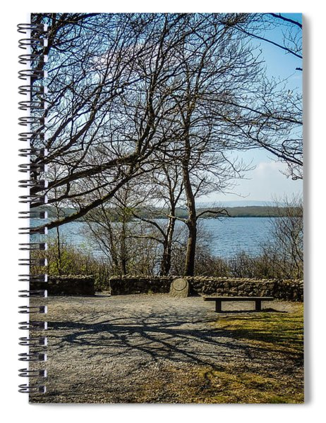 Sunny Afternoon At Lough Coole Spiral Notebook