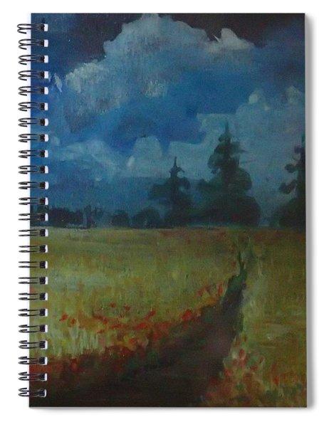 Sunny Field Spiral Notebook