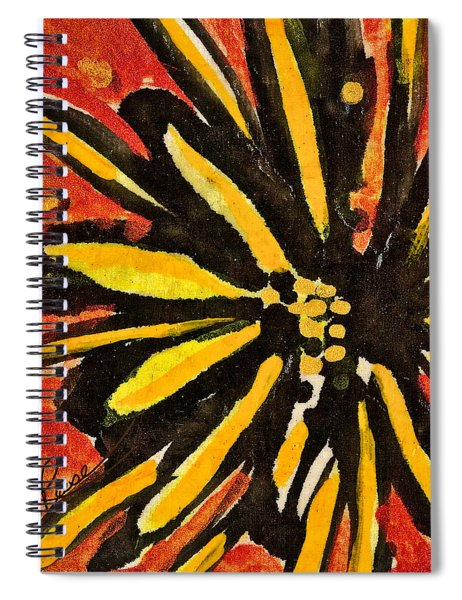 Sunny Hues Watercolor Spiral Notebook