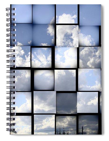 Sunny Sky Spiral Notebook