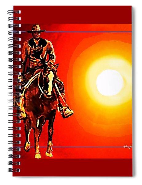 Sunrider Spiral Notebook
