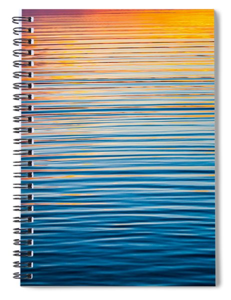 Sunrise Abstract  Spiral Notebook