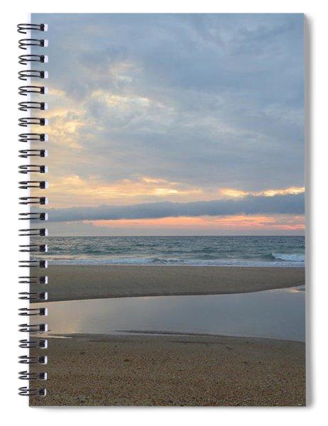 Sunrise At Loggerhead Spiral Notebook