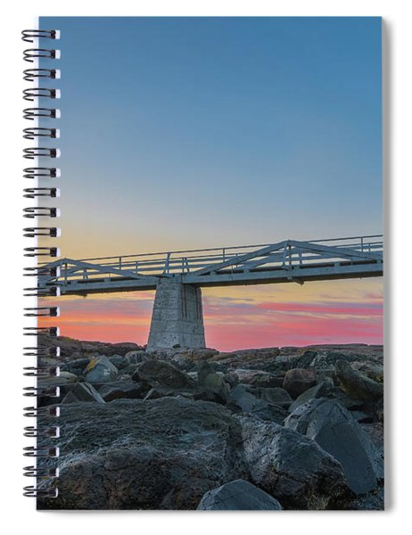 Sunrise At Marshall Point Spiral Notebook