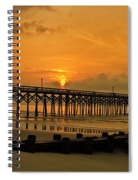 Sunrise At Pawleys Island Spiral Notebook