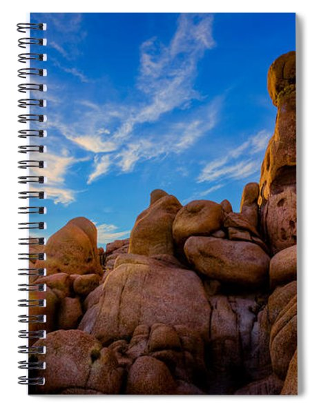 Sunrise At Skull Rock Spiral Notebook