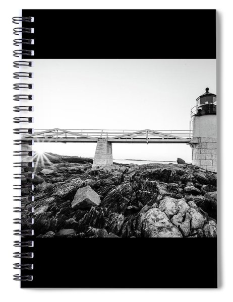 Marshall Point Lighthouse Shoreline Spiral Notebook