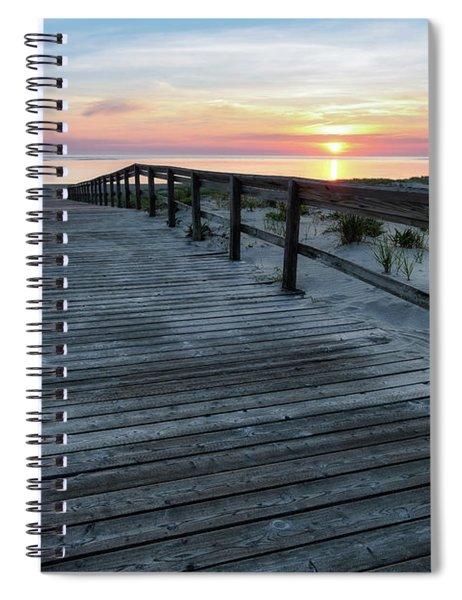 Sunrise Boardwalk, Cranes Beach Spiral Notebook