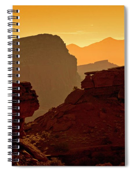 Capital Reef Sunrise Spiral Notebook