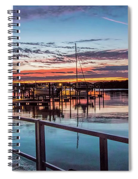 Sunrise Christmas Morning Spiral Notebook