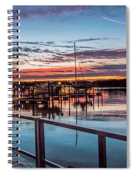 Sunrise Christmas Morning Spiral Notebook
