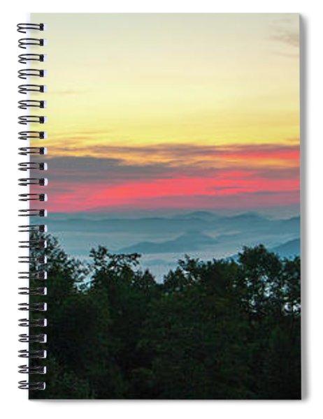 Sunrise From Maggie Valley August 16 2015 Spiral Notebook