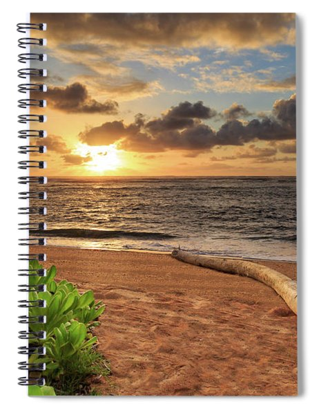 Sunrise In Kapaa Spiral Notebook