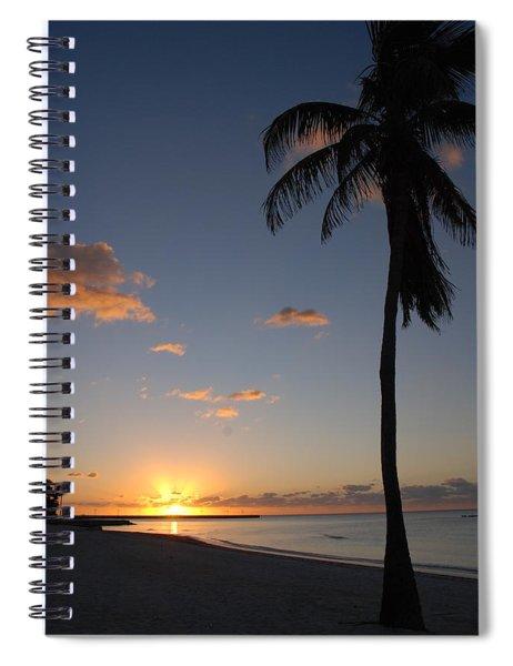 Sunrise In Key West 2 Spiral Notebook
