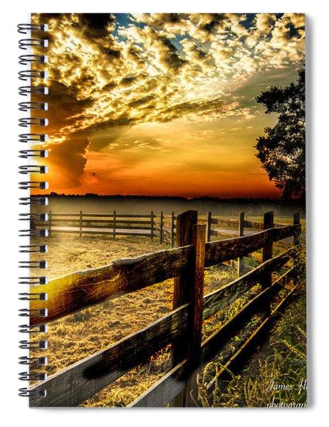 Sunrise In Summer Spiral Notebook