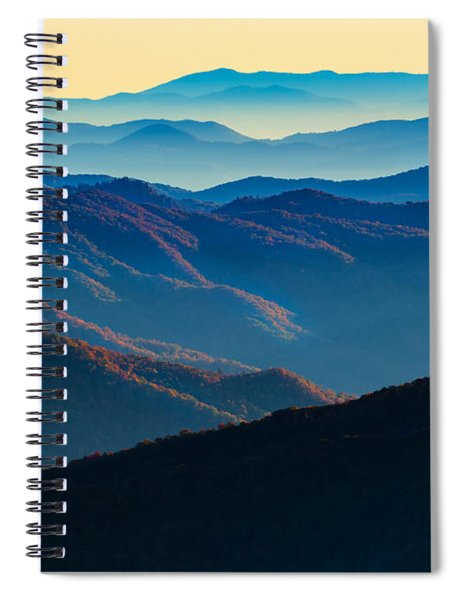Sunrise In The Smokies Spiral Notebook