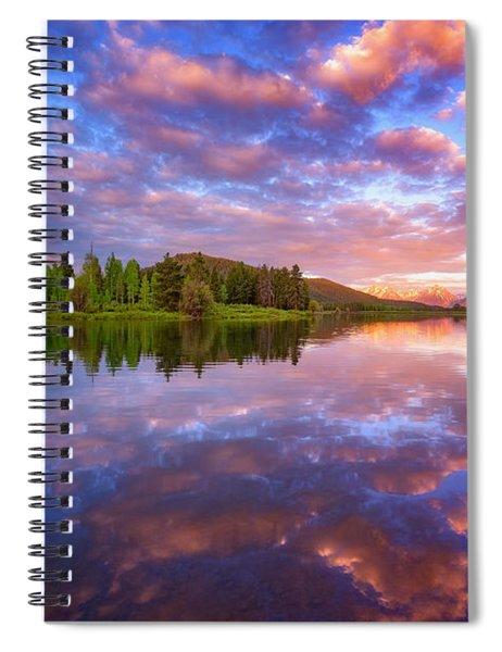 Sunrise Kiss Spiral Notebook
