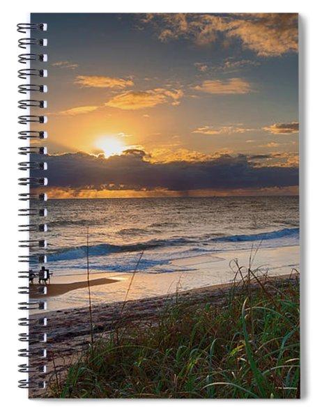 Sunrise Love Spiral Notebook
