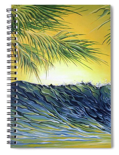 Sunrise Nose Ride Spiral Notebook