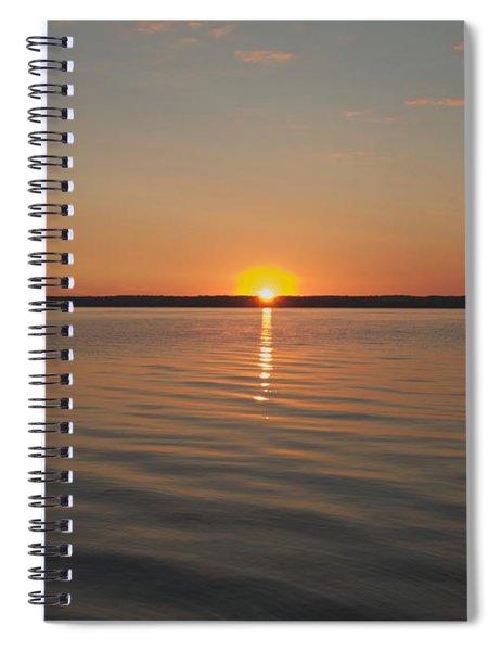 Sunrise On Seneca Lake Spiral Notebook