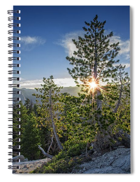 Sunrise On Sentinel Dome Spiral Notebook
