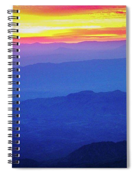 Sunrise Over Big Bend Spiral Notebook