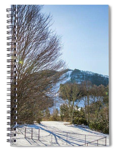 Sunrise Over Cataloochee Ski Spiral Notebook