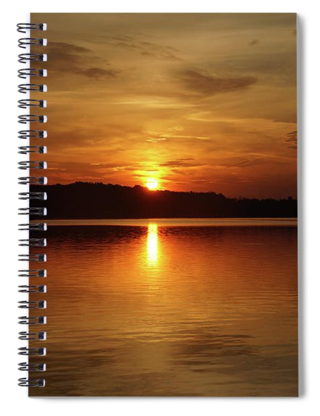 Sunrise Over Deer Creek Spiral Notebook