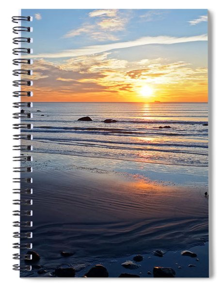 Sunrise Over Red Rock Park Lynn Shore Drive Spiral Notebook