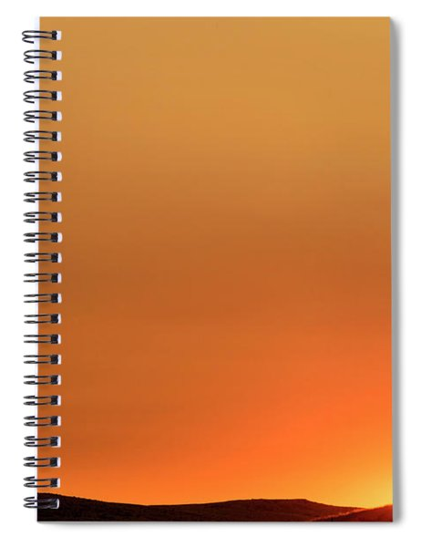 Sunrise Over The Umtanum Ridge Spiral Notebook