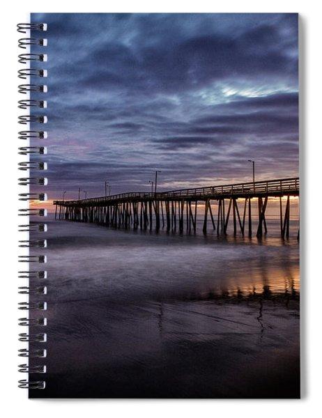 Sunrise Pier Spiral Notebook