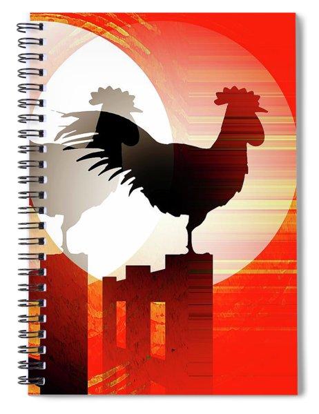 Sunrise Reflection Spiral Notebook