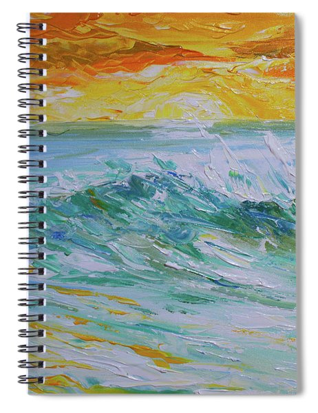 Sunrise Surf Spiral Notebook