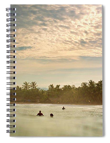 Sunrise Surfers Spiral Notebook