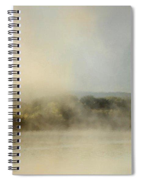 Sunrise Through The Fog Spiral Notebook