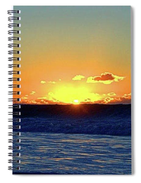 Sunrise Wave I I I Spiral Notebook