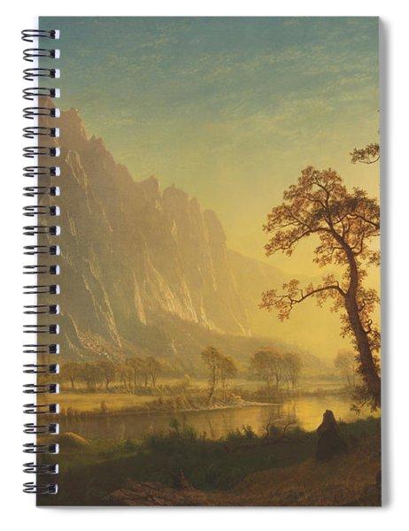Sunrise, Yosemite Valley Spiral Notebook