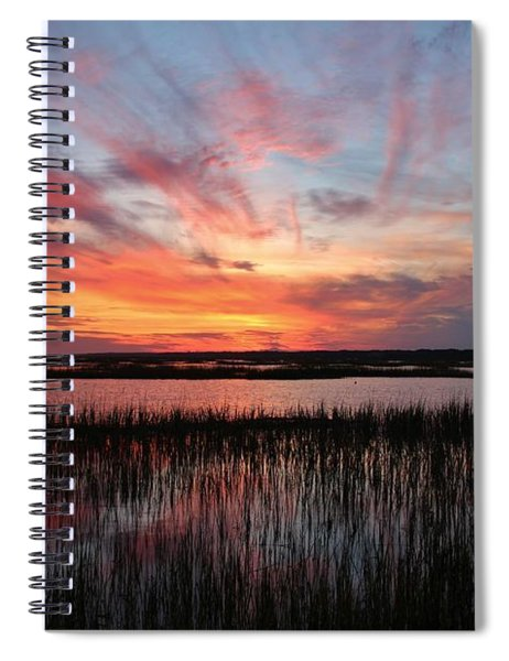 Sunset And Reflections 2 Spiral Notebook