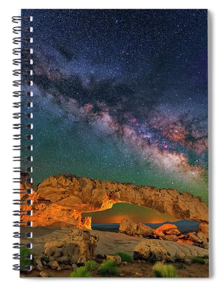 Sunset Arch Spiral Notebook