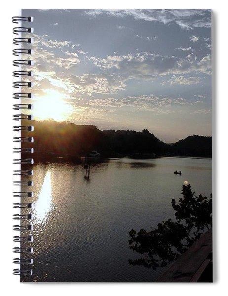 Sunset At Occoquan Spiral Notebook